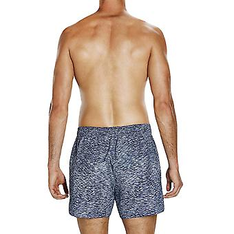Speedo Mens Alpha Fusion Imprimé 14'quot; Swim Swimming Pool Beach Shorts - Navy
