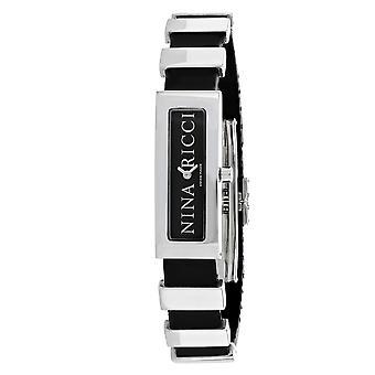 Nina Ricci Women's Classic Black Dial Watch - 66200B