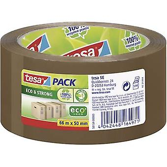 Tesapack® Eco & sterk 66 m x 50 mm Brown