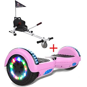 Right Choice Hoverboard-LED  Wheels-Bluetooth Speakers  with Adjustable Hoverkart