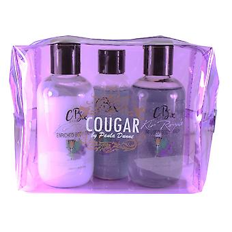 Bath & Body Gift Set Body Wash, Cream Lotion, Shimmer Oil Cocktail Kir Royale