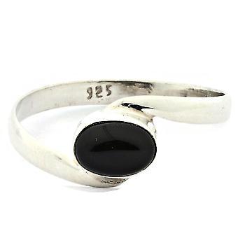 Anillo 925 Plata con ónix 54 mm / x 17,2 mm (KLE-RI-139-03-(54))