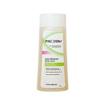 Phisoderm anti-blemish body wash, 10 oz