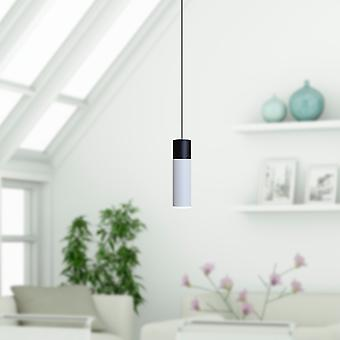 Vela 1 Mini Pendant Lighting Black-White