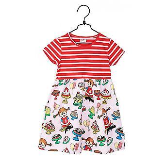 Pippi Long Bas Dress Mums, Rose