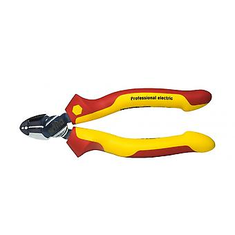 Wiha Tools 1000V VDE Stripping Diagonal Cutter, 160mm