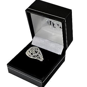 Rangers FC cresta plateado anillo de plata