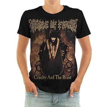 Born2rock - cruelty and the beast - cradle of filth t-shirt