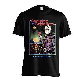 Friday 13th Jason Voorhees Camp Crystal Lake Official T-Shirt