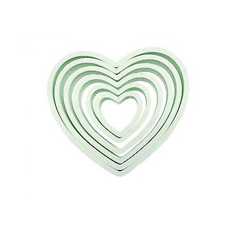 PME Heart Cutters Set Di 6