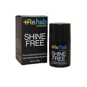 Rehab London Shine Free Mattifying Oil Control Lotion 50ml Made for Men