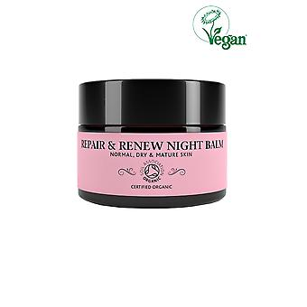 Botanicals Natural Organic Skincare Repair and Renew Night Balm 30g Normal, Dry and Mature