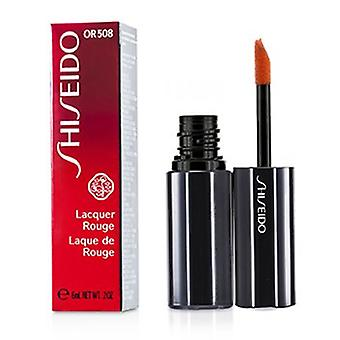 Shiseido Lacquer Rouge - # Or508 (incêndio) 6ml/0.2oz