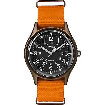 Timex MK1 Nylon Indiglo Mens Watch TW2T10200