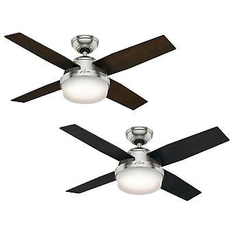 Ceiling Fan Dante Brushed Chrome 112cm / 44
