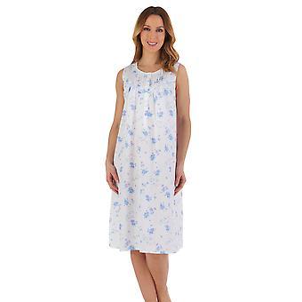 Slenderella ND55205 Women's Floral Cotton Nightdress