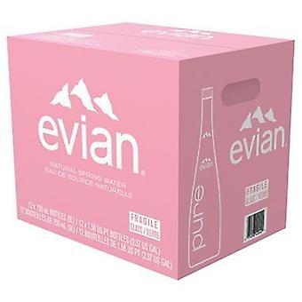 Evian Water Glass-( 750 Ml X 12 Bouteilles )