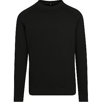 Cotton Addict Mens Raglan Crew Neck Casual Jumper Sweater