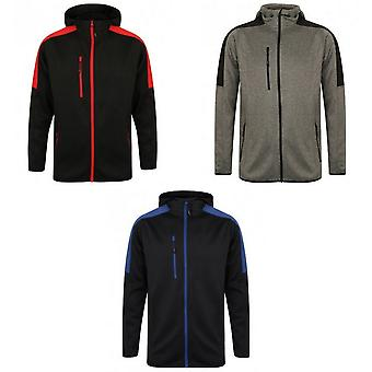 Finden & Hales Mens Active Soft Shell Jacket
