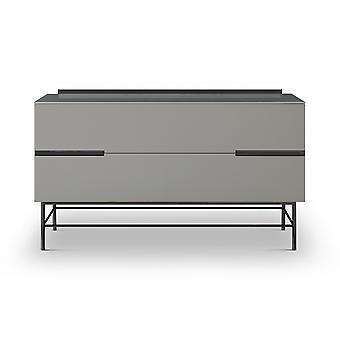 Gillmore Sleek - Zeitgenössische zwei Tür Low Sideboard mit verschiedenen Farboptionen
