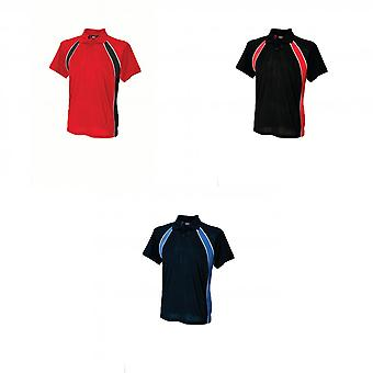 Finden & Hales Mens Jersey Team Sports Polo T-Shirt