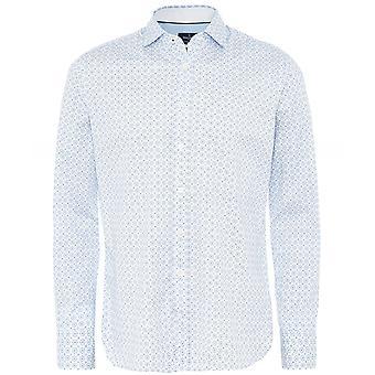 Hackett Slim Fit flise print shirt