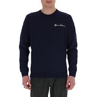 Versace A85327a231242a2319 Men's Black Cotton Sweatshirt