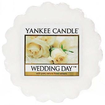 Yankee Candle Wax Tart Melt Wedding Day