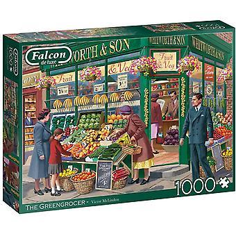 Falcon De Luxe 1000 pala palapeli greengrocer