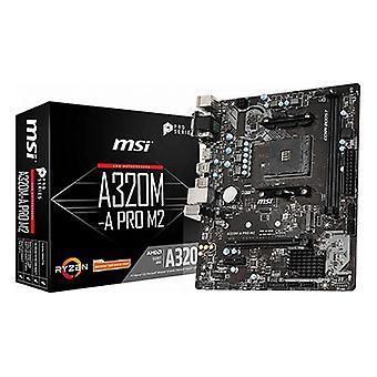 Motherboard MSI A320M-A mATX DDR4 AM4