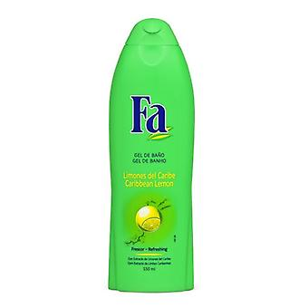 Shower Gel Caribbean Lemons Fa (550 ml)