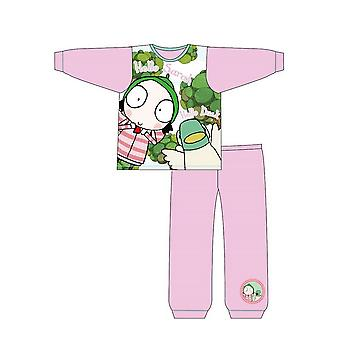 Sarah And Duck Girls Toddlers Pyjama Set