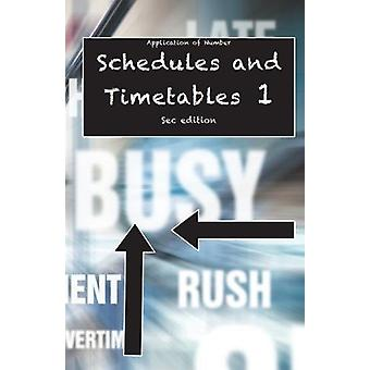 Application opf Number - Schedules and Timetables 1 by Nisha Lawler Ed
