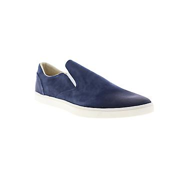Onitsuka Tiger Tiger Slip On Deluxe Mens Blue Suede Sneakers Chaussures