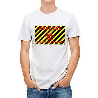 Allthemen Muži & apos, s 3D tištěné infikované varovné virus série krátké tričko