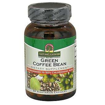 Nature's Answer Green Coffee Bean Caps 60 1604