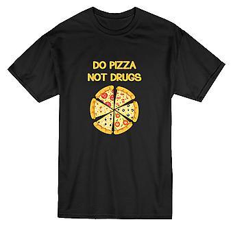 Сделать Пицца не наркотики графический Мужская футболка