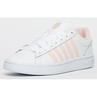 K Swiss Court Winston White / Pearl Pink