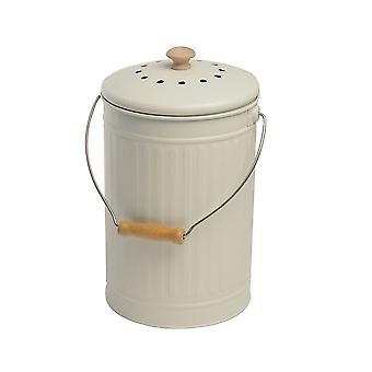 Eddingtons 7 Liter Compost Emmer, Krijt