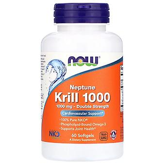 Neptuno Krill 1000 (60 Softgels) - Now Foods