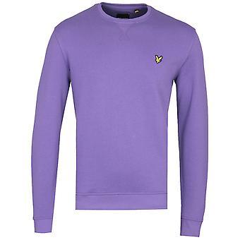 Lyle & Scott Violet Crew Neck Sweatshirt