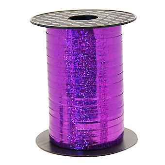 Apac Holographic 250m Purple Curling Ribbon
