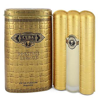 Cuba prestige legacy eau de toilette spray by cuba 550710 90 ml