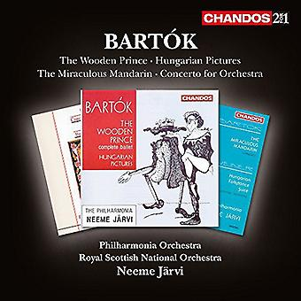 Bartok / Orch nacional escocesa real - importar de USA orquestales de obras [CD]