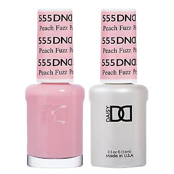 DND Duo Gel & Nail Polish Set - Peach Fuzz 555 - 2x15ml
