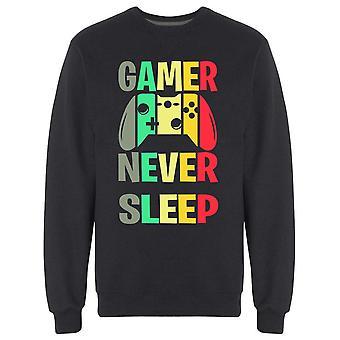 Gamer Never Sleep CollegePaidat Miehet's -Kuva Shutterstock