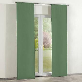 Flächenvorhänge 2 Stck., grün, 60 × 260 cm, Loneta, 133-18