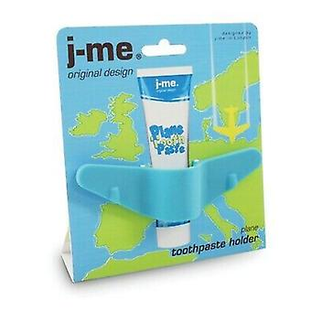j-me Plane Aeroplane Childrens Toddler Toothpaste Holder Fun Great Gift[Blue,Does Not Apply]