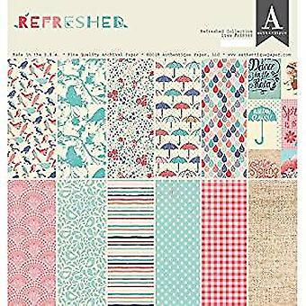 Authentique Aggiornato 12x12 Pollici Paper Pad