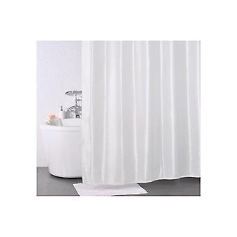 Sabichi Stripe Shower Curtain And Hanging Hooks